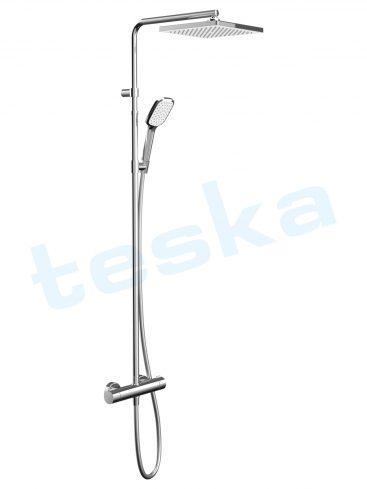 Devon Termo Smart Kare İki Yönlü Duş Kolonu DK2102C