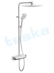 Mira Termostatik Beyaz İki Yönlü Duş Kolonu DK2920C