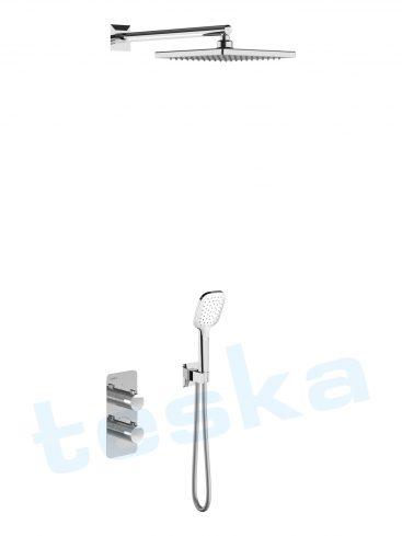 Teona Ankastre Krom Temostatik Banyo Bataryası T4100C