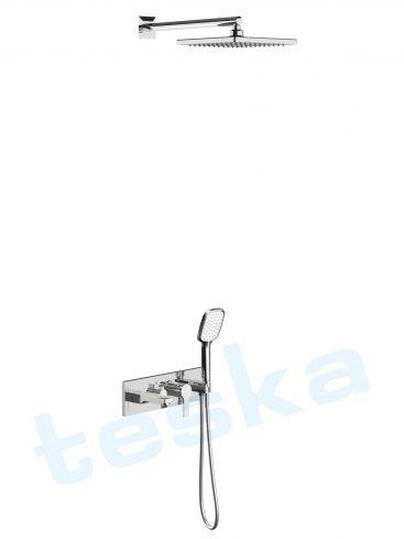 Enjoy Krom Üç Yönlü Yatay Ankastre Banyo Bataryası AS3110