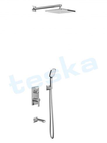 Simena Krom Üç Yönlü Ankastre Banyo Bataryası AS3500