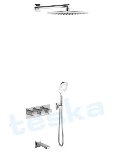 Lande Ankastre Krom Termostatik Banyo Bataryası T4000C