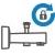 Kilitlemeli Yönlendirici - Yapısal özelliğinden dolayı çok düşük basınçlarda bile (0,5 bar) çalışmaya devam eder.