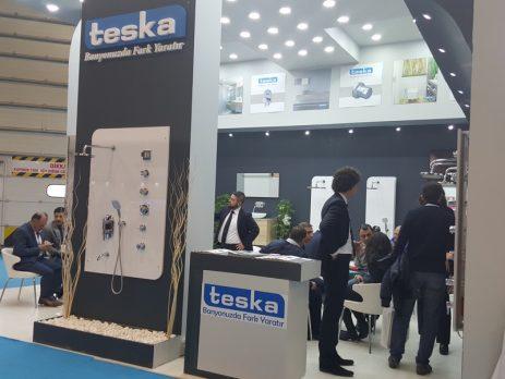 Teska, En Yeni Ürünleriyle UNİCERA 2016 Fuar'ında